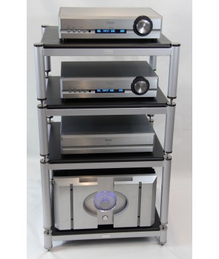 Extrema CS14 Modular 4 Shelves Audio Table