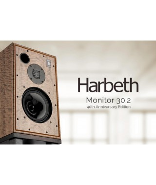 Harbeth Monitor 30.2 - 40th Anniversary Edition Loudspeakers